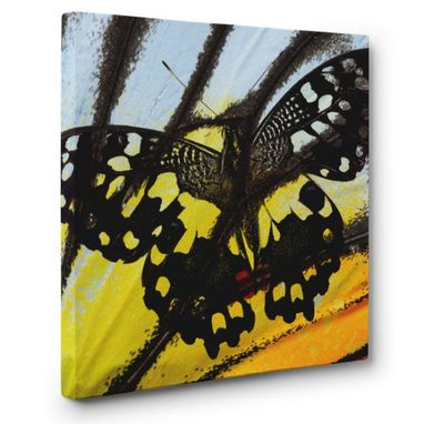 Custom Made Butterfly Canvas Wall Art