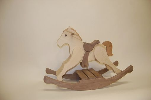 Custom Made Child's Rocking Horse