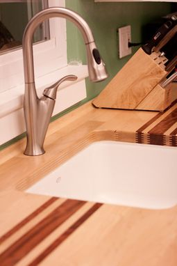 Custom Made Butcher-Block Countertop