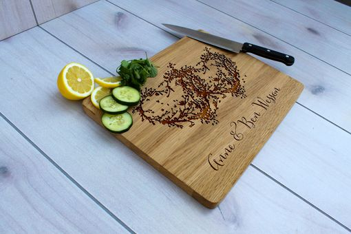 Custom Made Personalized Cutting Board, Engraved Cutting Board, Custom Wedding Gift – Cb-Wo-Anne Ben Wessen