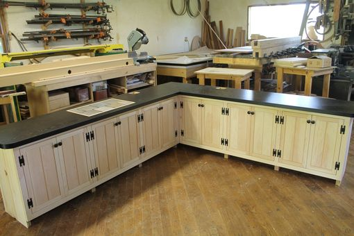 Custom Made Deck Barbecue Storage Cabinets
