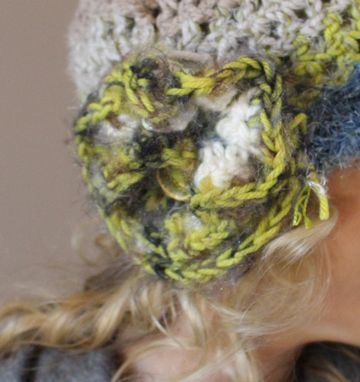Custom Made Sold ~ This Is Me, Fiber Art, Crochet Hat ~ Sold