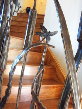 Custom Made Oak Hill Iron - Hand Forged / Interior Railing / Steel / Iron