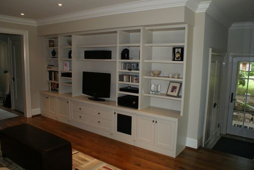 Custom Made Built-In Audio/Video Wall Unit