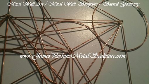 Geometric Metal Wall Art hand crafted geometric metal wall sculpture / metal wall art