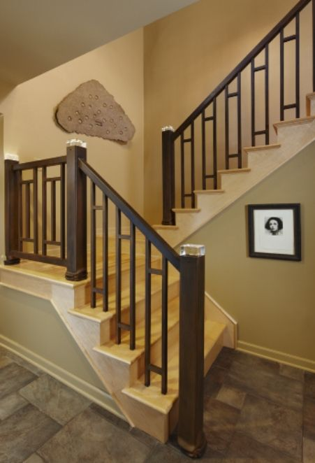 Custom Made Led Stair Rail By Stefani Amp Co Custommade Com