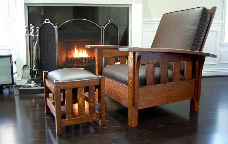 Handmade Bow Arm Morris Chair By Mm Wood Studio