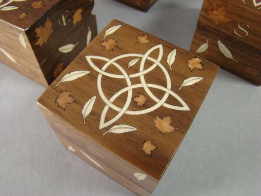 Custom Made Inlaid Boxes