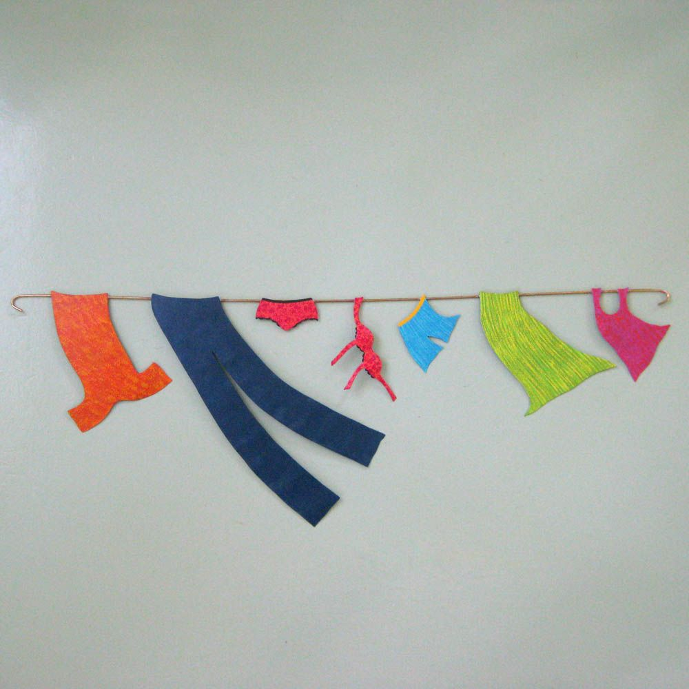 Upcycled Wall Art Buy A Hand Crafted Clothes Line Wall Art Sale Upcycled Metal