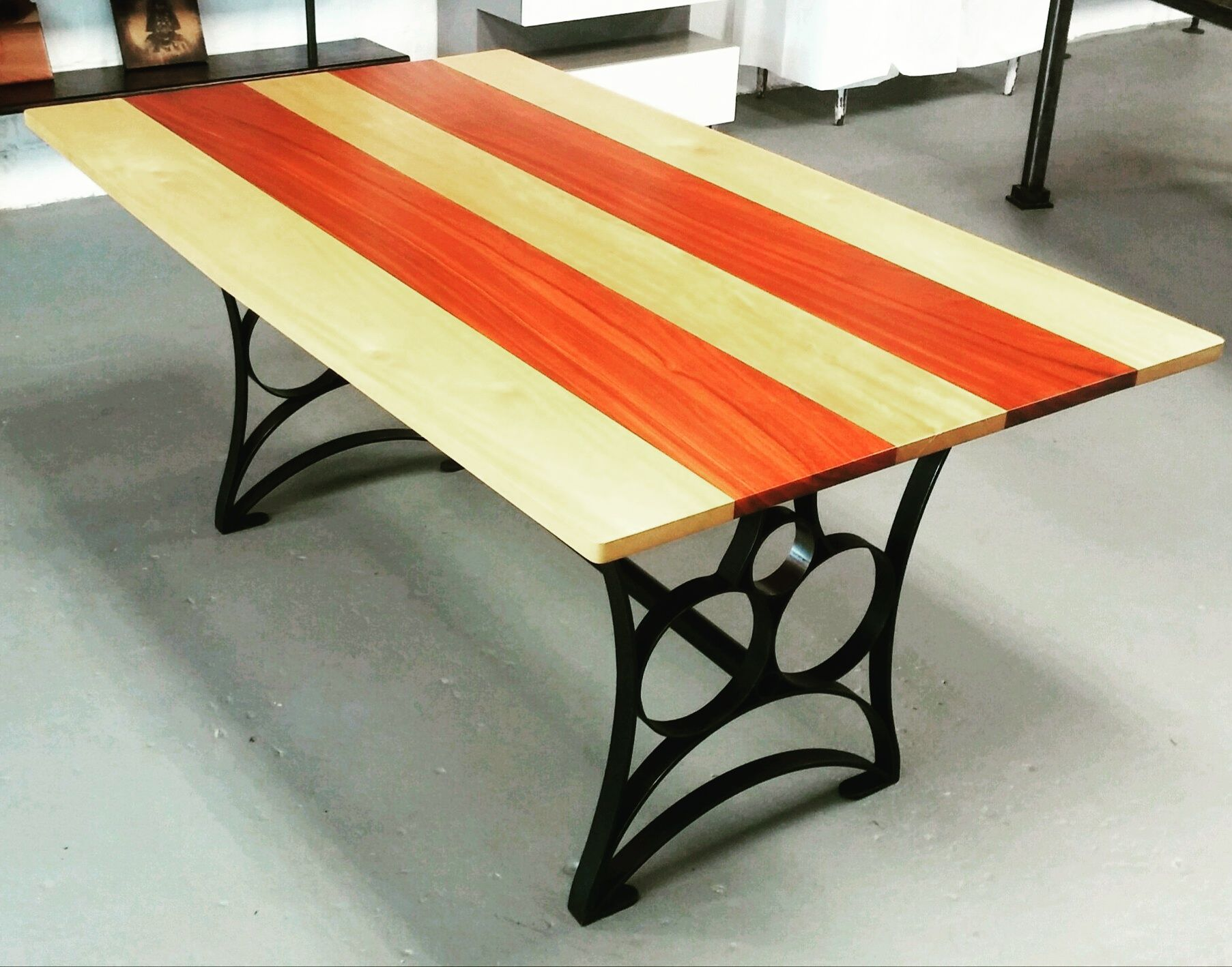 Buy A Hand Crafted Solid Padauk And Yellow Heart Wood
