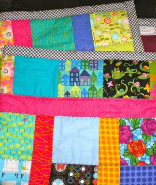 Custom Made Baby Girl Quilt