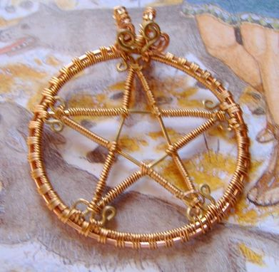 Custom Made Pentacle/Pentagram Pendant
