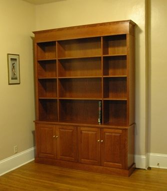 Custom Made Bookshelf Hutch