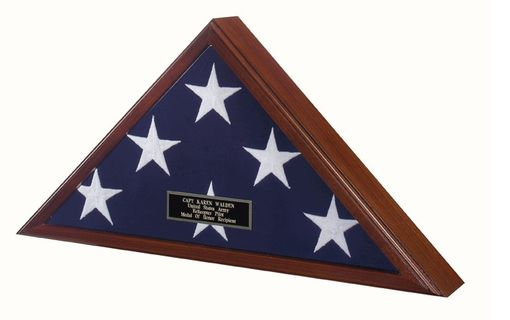 Custom Made Best Seller -Flag Display Case American Made!