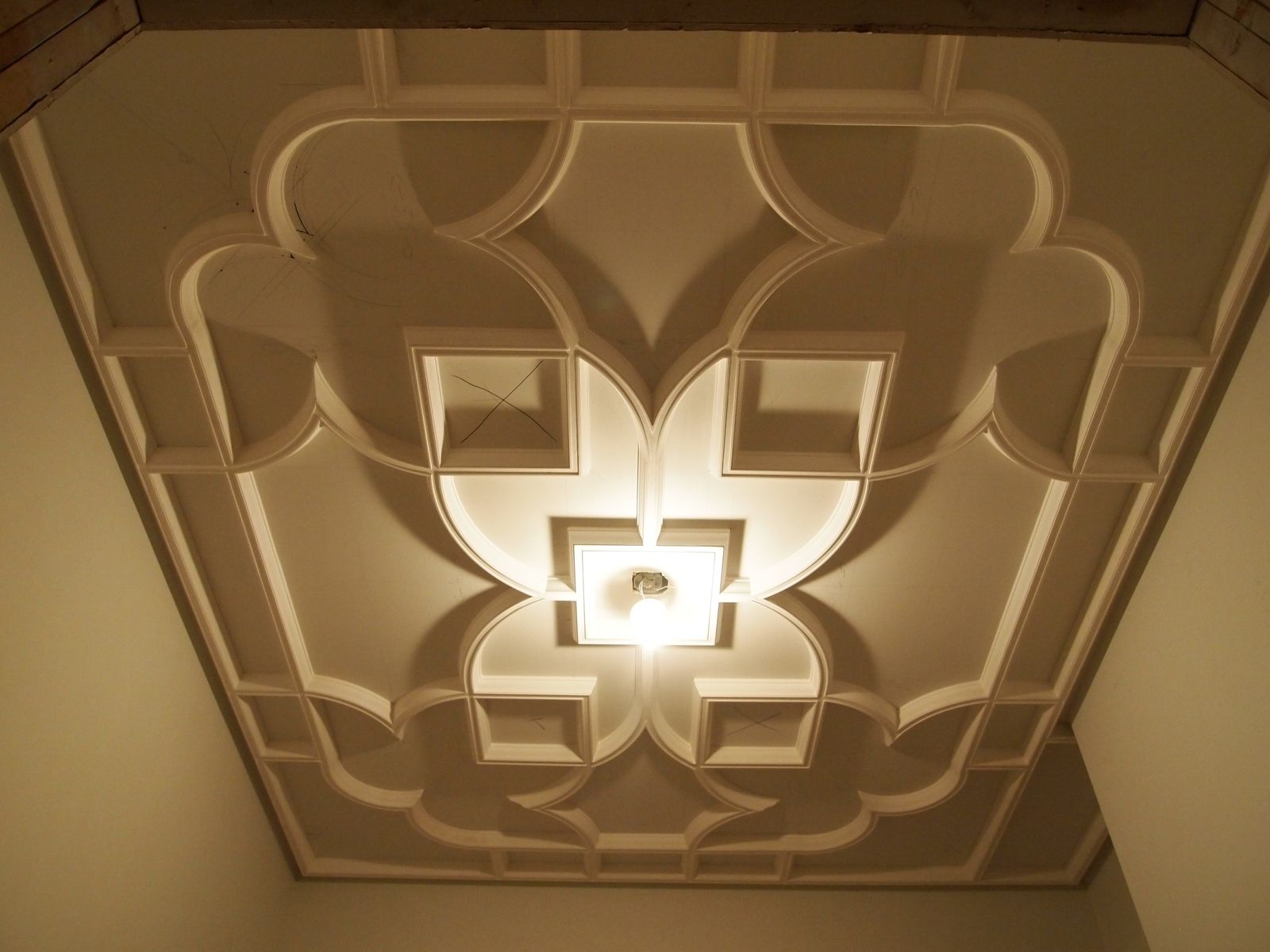 Hand Made Custom Plaster Ceiling By Crown Plaster Inc