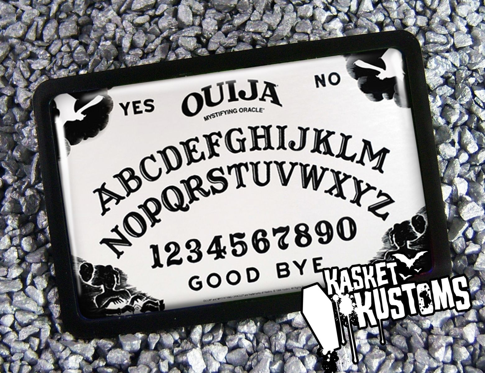 Ouija Board Coffee Table Buy A Handmade Ouija Board Halloween Bat Occult Belt Buckle Bb 45
