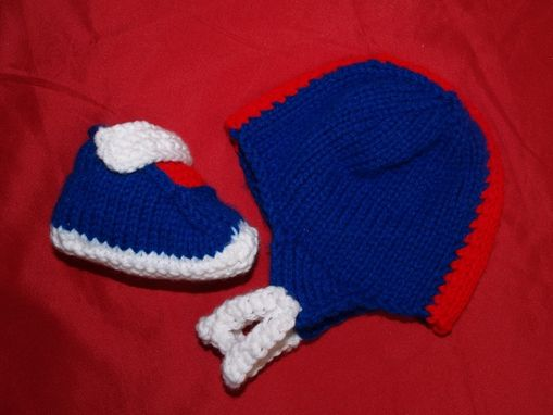 Custom Made Knit Pattern Sneaker Booties For Baby Pdf