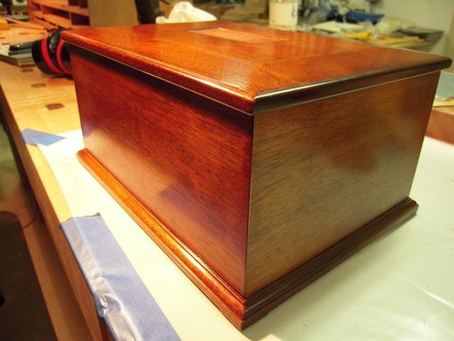 Custom Made Memorial Urn, Internment Box, For Loved One Or Pet