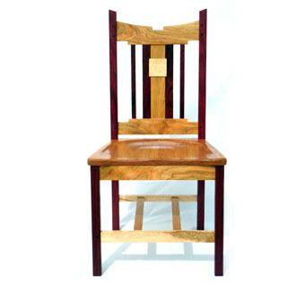 Marvelous Handmade Custom Designed Purple Heart Birdseye Maple And Inzonedesignstudio Interior Chair Design Inzonedesignstudiocom