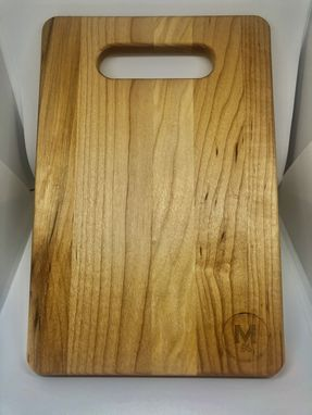 Custom Made 9x6 Cutting Board With Small Engraving