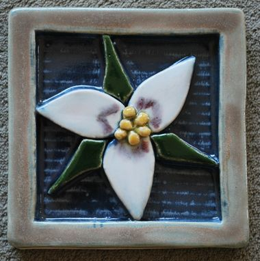Custom Made Wildflower Tile #3