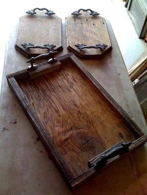 Custom Made Barnwood Trays