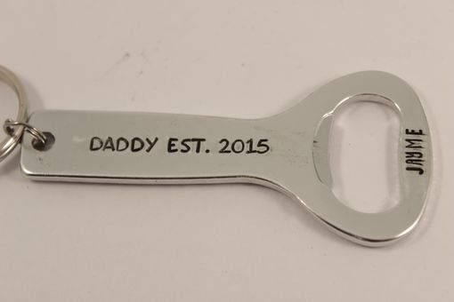 Custom Made Personalized, Bottle Opener Keychain - Custom Created With Your Choice Of Text