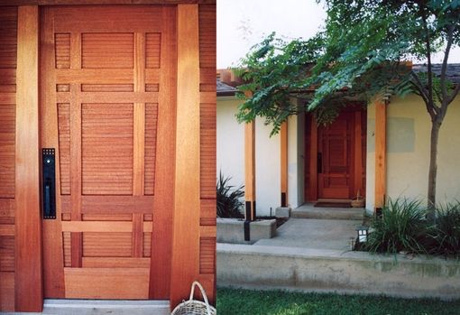 Custom Made Architectural Woodworking : Arts & Crafts Door