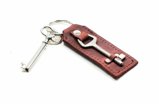 Custom Made Antique Key Fob Keychain