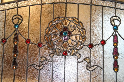 Custom Made Stained Glass Window - Commercial