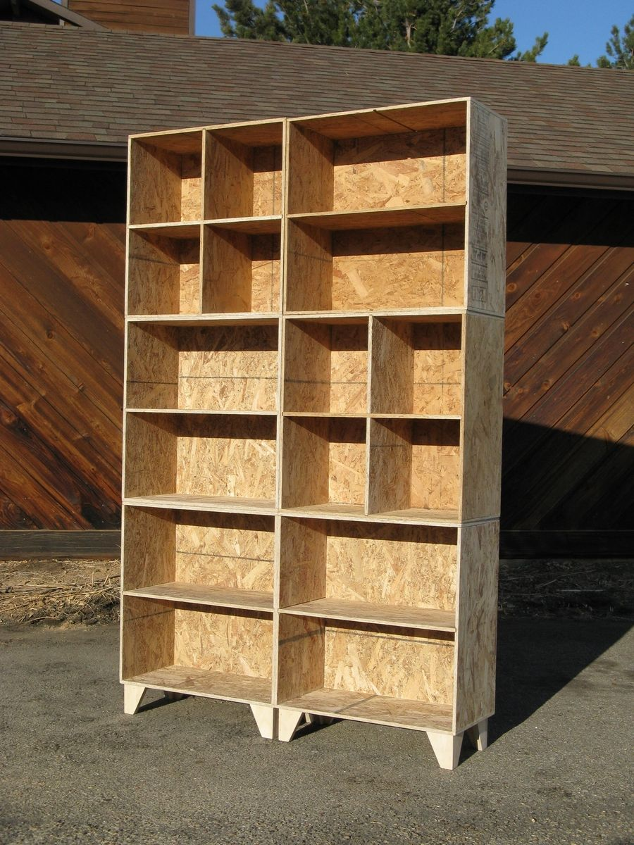 Handmade Mix And Match Bookcase And Cubbies By Modular Osb