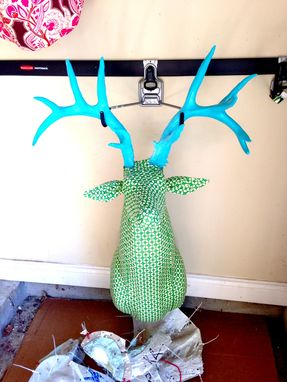 Custom Made Jezebel: Upholstered  Whitetail Deer Replica