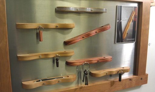 Custom Made Magnetic Key Rack And Pencil Ledge