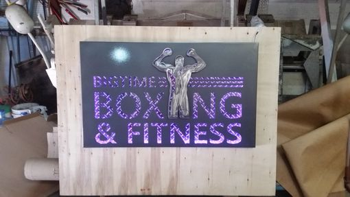 Custom Made 3 Dimensional Lighted Metal Signs