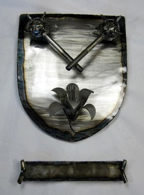 Custom Made Family Crest Wall Hanging