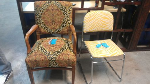 Custom Made Downtown Office Furniture Items Re-Upholstered/Restoration