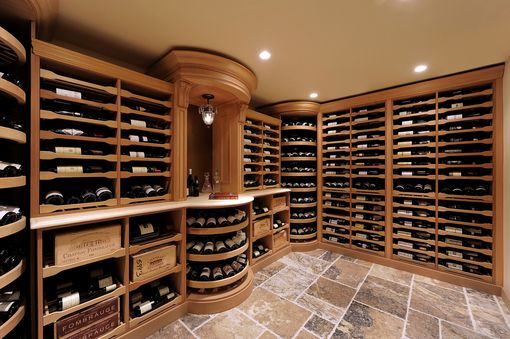 Custom Made Stempel Wine Cellar