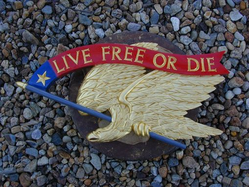 Custom Made Live Free Or Die