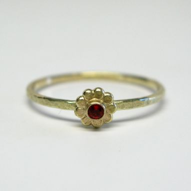 Custom Made Mexican Fire Blossom Ring