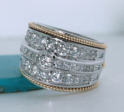 "Custom Made ""Leftover"" Diamond Ring"