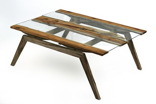 Custom Made Twin River Coffee Table