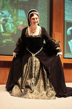 Custom Made Proper Henrician Lady's Gown - Tudor Period