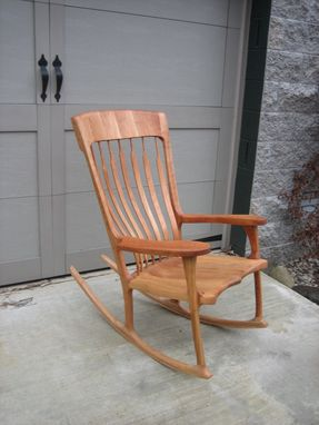 Custom Made Maloof Style Rocker
