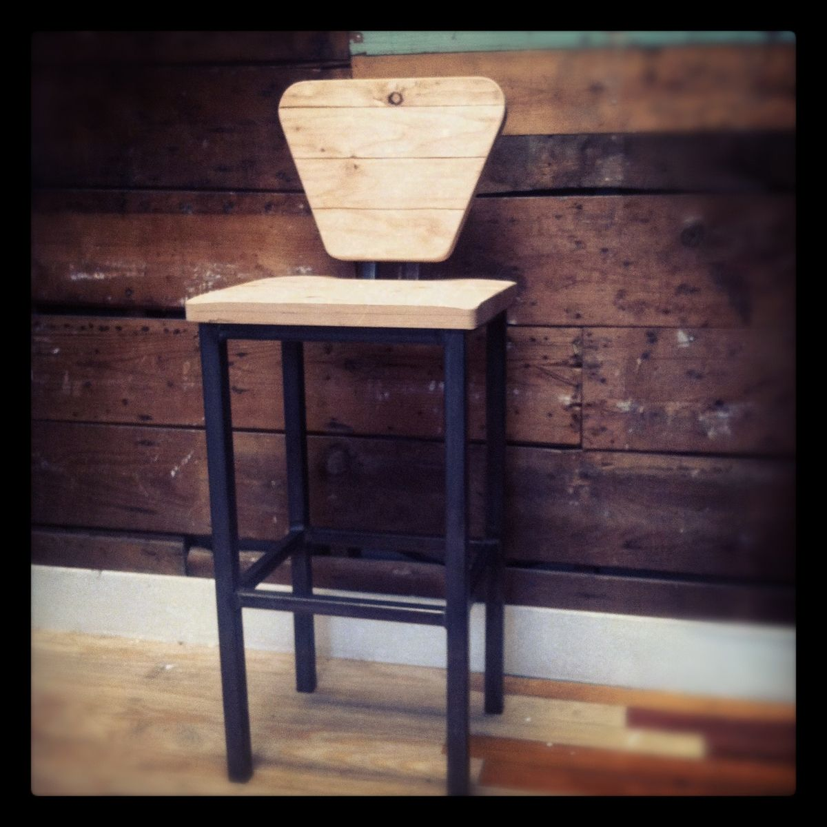 Hand Made The Quot Industry Standard Quot Bar Stool By Zac Divine
