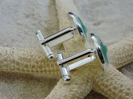 Custom Made Custom Sterling Silver Plated Cufflinks