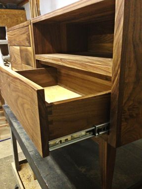 Custom Made Walnut Night Stands