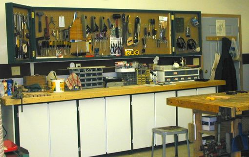 Custom Made Tool Storage Cabinets