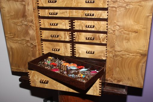 Custom Made Jewelry Box Treehouse
