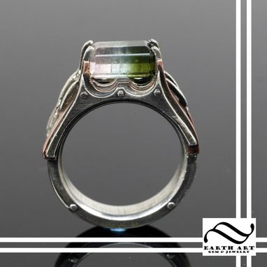 Custom Made Watermelon Steampunk Engagement Ring