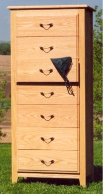 Custom Made Lingerie Chest